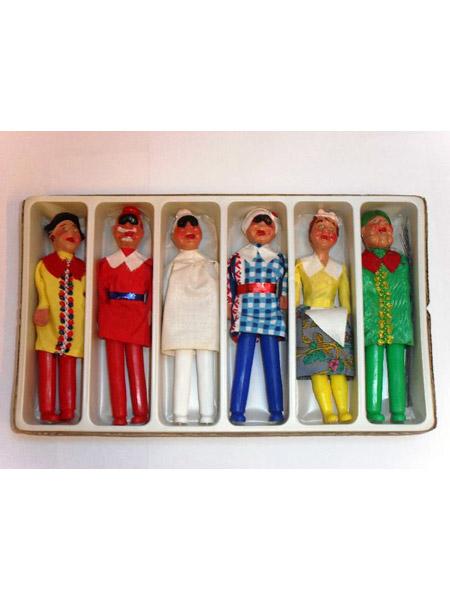 La casa della marionetta collezione di marionette