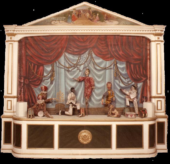 La casa della marionetta la collezione di marionette di for Disegni della casa della cabina di ceppo